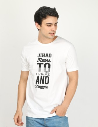 Kaos Dakwah Islami Jihad (Tampak Samping)