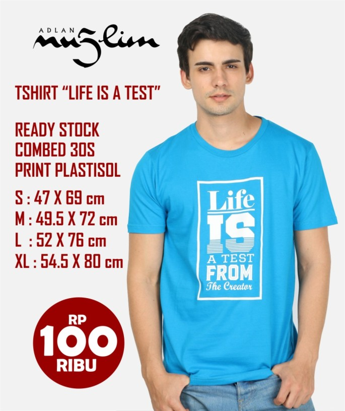 ready stock life is a test